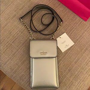 kate spade Bags - Kate Spade Crossbody Pebbled Phone Case/bag